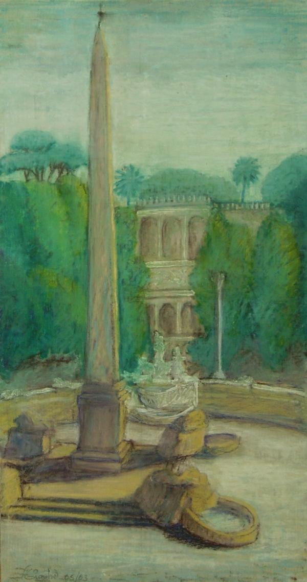 Obelisco di piazza del Popolo